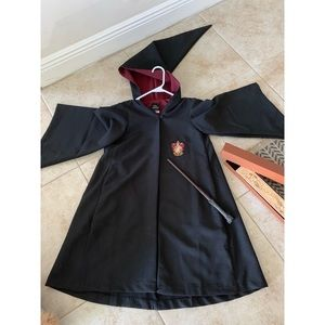 Bundle of Authentic Harry Potter Robe and Wand